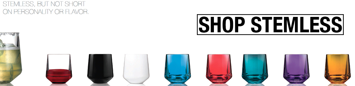 Shop Drinique Stemless Wine Glass
